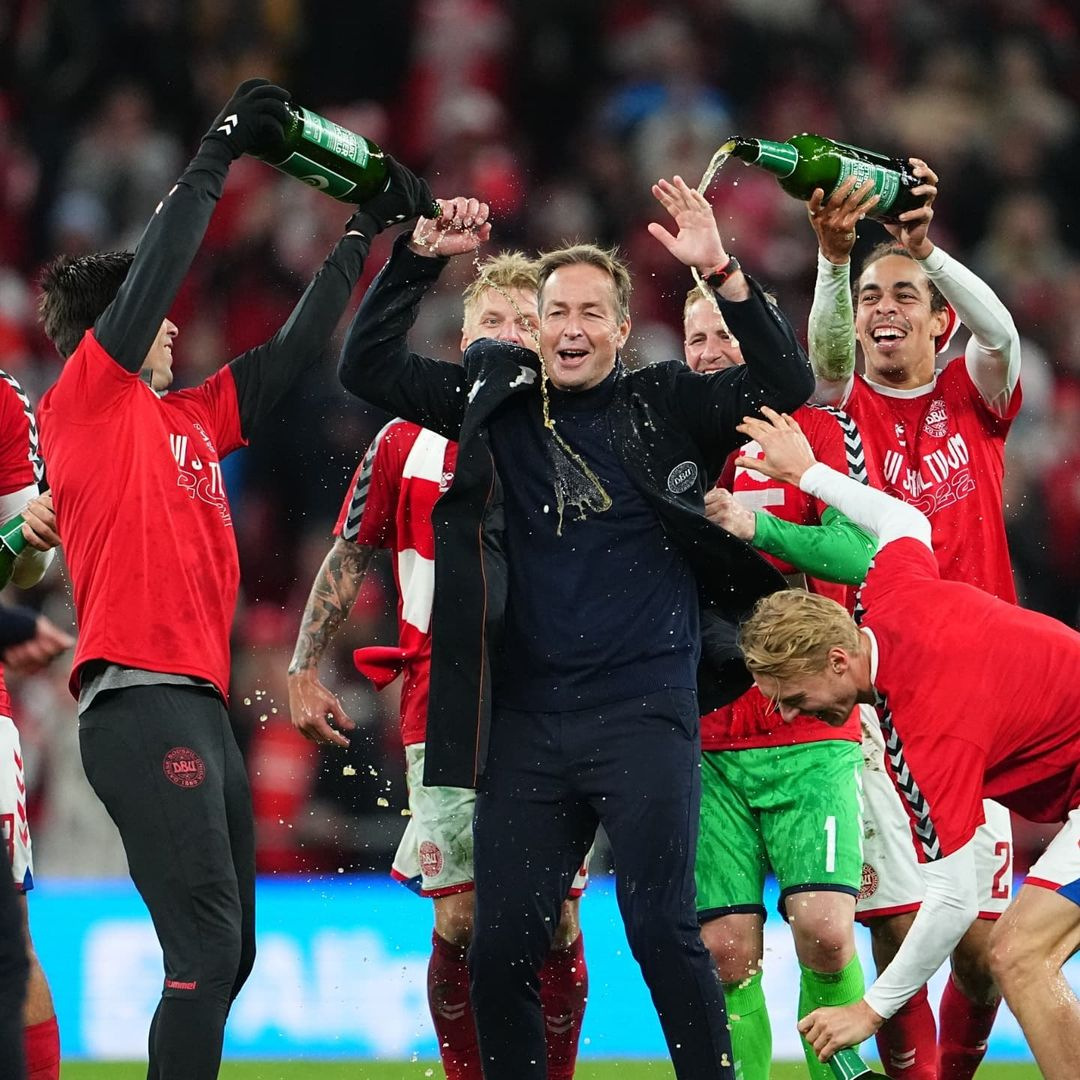 8 wins from 8. 27 goals. 0 conceded   Denmark just BOSSED World Cup qualificatio...