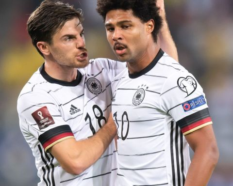 Main man for Germany? Serge Gnabry has now scored 20 goals in 30 appearances fo...