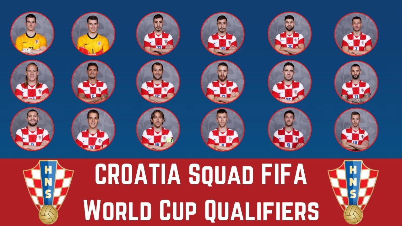 CROATIA Squad For FIFA World Cup 2022 Qualifiers - October | FootWorld
