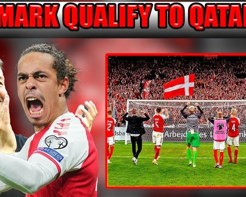 Denmark Qualifies for World Cup 2022!