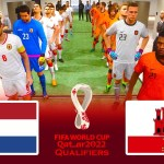 Netherlands vs Gibraltar | FIFA World Cup 2022 Qualifiers | Match eFootball PES 2021