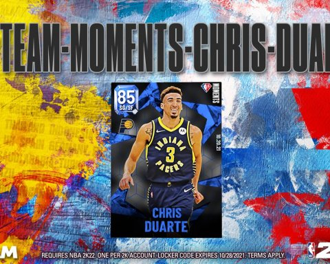 Moments Locker Code  Celebrate Chris Duarte's 27 PT rookie debut with his Sapphi...