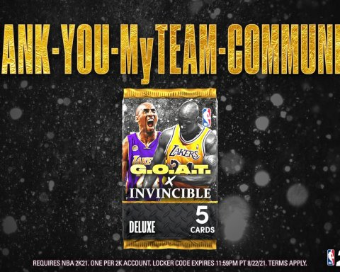Thank you to every MyTEAM player this year  We can't wait to see you in #NBA2K22...