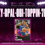 The #GalaxyOpalTournament Locker Code goes to @obitoppin1  Use this code for a g...