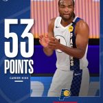 caught  for 53 points (9/12 3FG) in the  victory over Philadelphia! ...