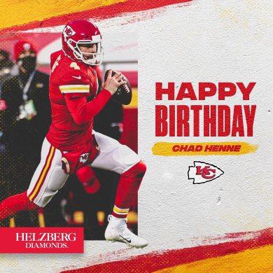 Happy birthday, Chad ...