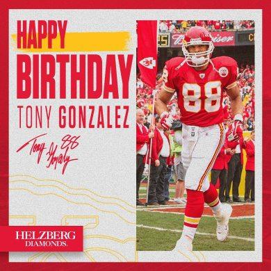 Happy birthday, Tony ...