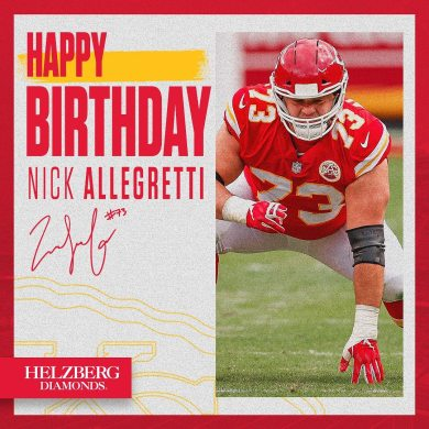 Let's wish our very own Nick Allegretti a happy birthday ...