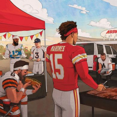 The best tailgate spot in all of sports. : ...