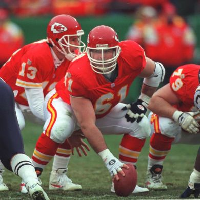 Tim Grunhard will be inducted into the Chiefs Ring of Honor this upcoming season...
