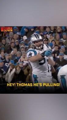 Nobody could anticipate a play like Luke Kuechly.  (via ...