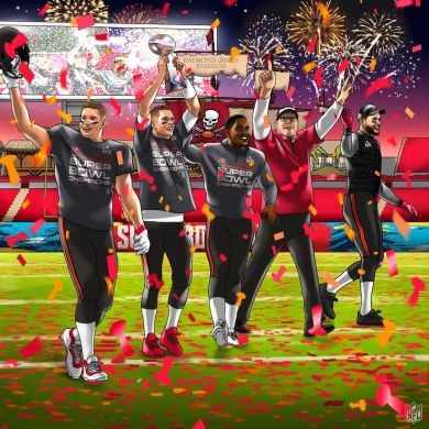 The  just won the Super Bowl IN TAMPA!  ...