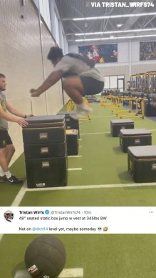Tristan Wirfs really just did that  (via ...