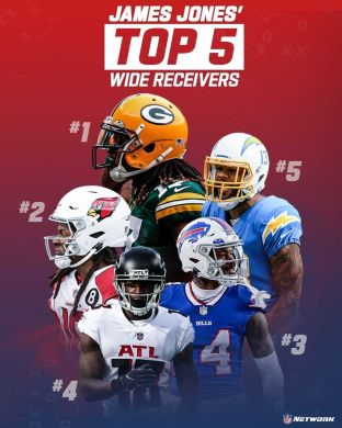 Who do you have in your top 5?  (via ...
