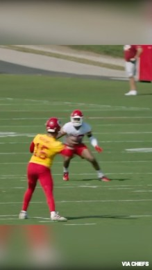 You know football is back when  no-look passes are back  (via ...