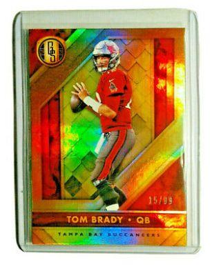 Tom Brady Gold Standard 15/99 SP HOLO FOTL SSP Numbered /99 Gem Tampa Bay Bucks ...