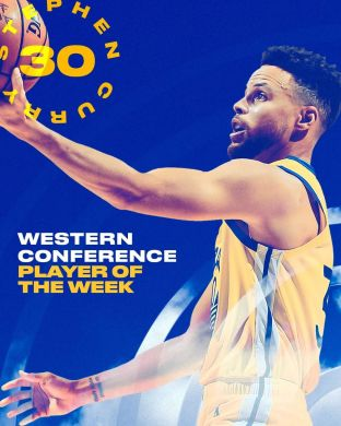 Never a doubt.   Stephen Curry has been named the  Western Conference Player of ...
