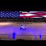 @Jon Batiste Performs National Anthem As Jazz & Pelicans Kneel In Solidarity Ahead Of NBA Restart
