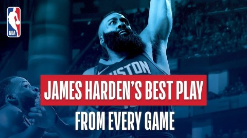 James Harden's Best Play From Every Game: 2018 NBA Season