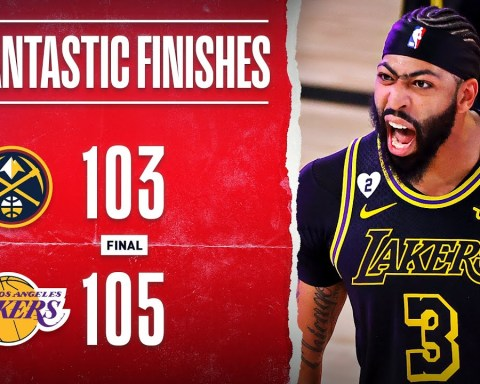 Lakers Take 2-0 Series Lead Off AD's Game-Winning Triple?