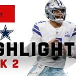 Dak Prescott SOARS Above Falcons w/ 450 Passing Yds   NFL 2020 Highlights