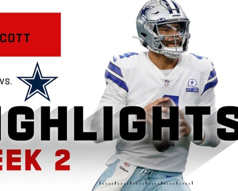 Dak Prescott SOARS Above Falcons w/ 450 Passing Yds | NFL 2020 Highlights