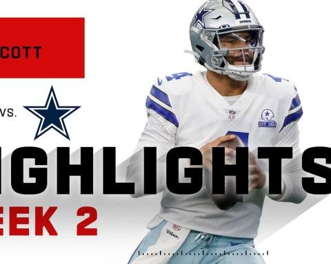 Dak Prescott SOARS Above Falcons w/ 450 Passing Yds | NFL 2020 Highlights