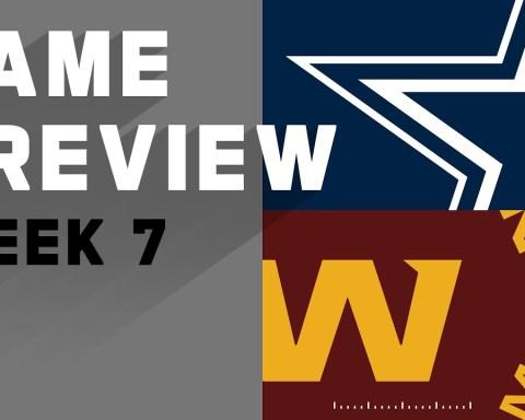 Dallas Cowboys vs. Washington Football Team | NFL Week 7 Game Preview