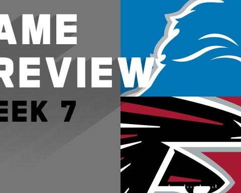 Detroit Lions vs. Atlanta Falcons | NFL Week 7 Game Preivew