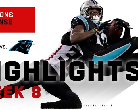 Falcons Defense Stops Teddy B & Panthers w/ 3 Sacks! | NFL 2020