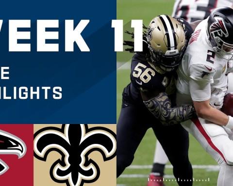 Falcons vs. Saints Week 11 Highlights   NFL 2020