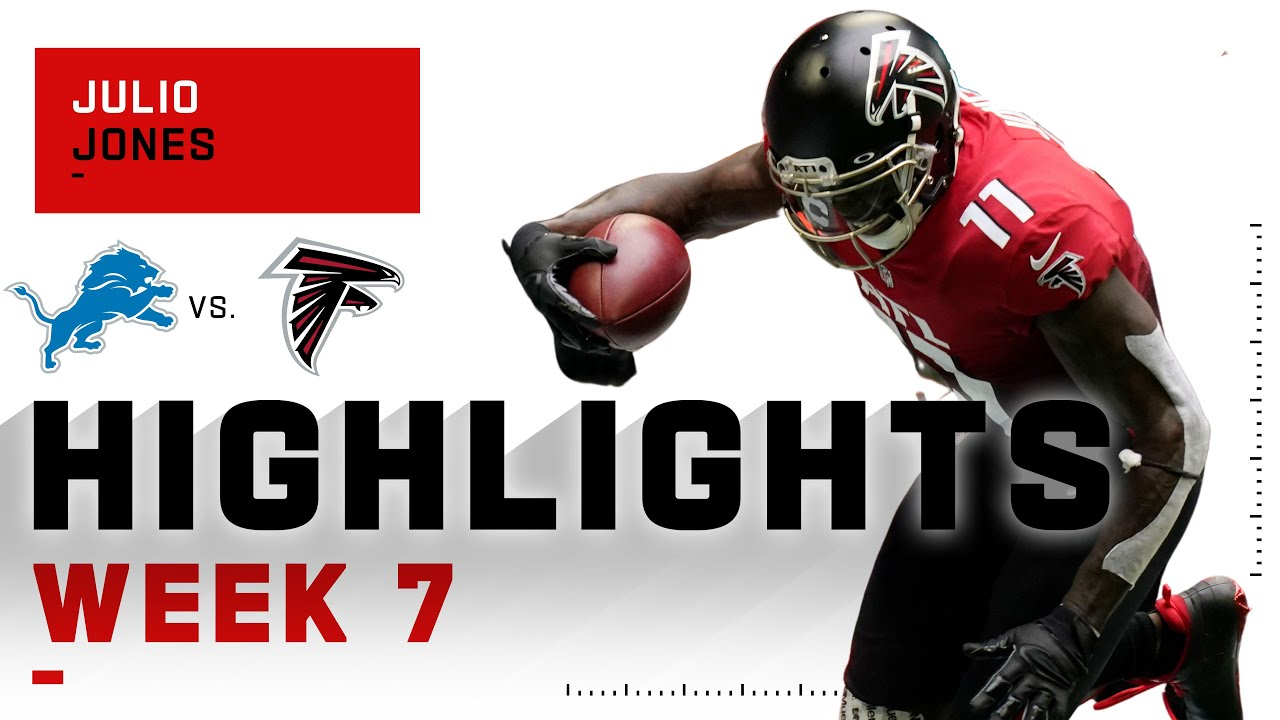 Julio Jones Highlights vs. Lions | NFL 2020