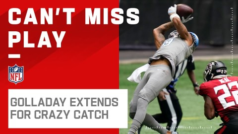 Kenny Golladay Hangs on for RIDICULOUS Extended Catch!