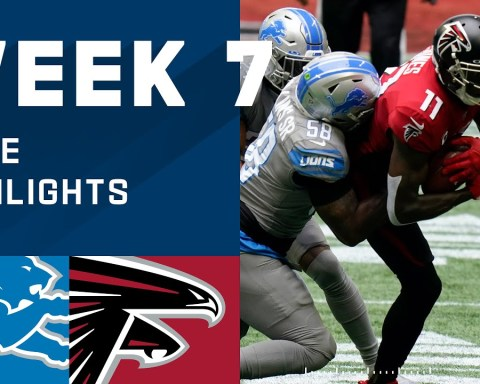 Lions vs. Falcons Week 7 Highlights | NFL 2020