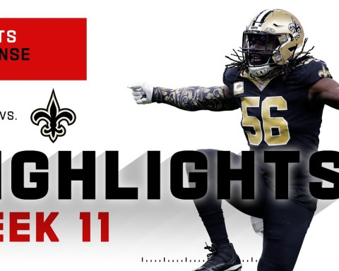 Saints Defense Threw Sack Party on Matt Ryan's Face | NFL 2020 Highlights