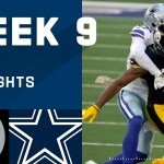 Steelers vs. Cowboys Week 9 Highlights | NFL 2020