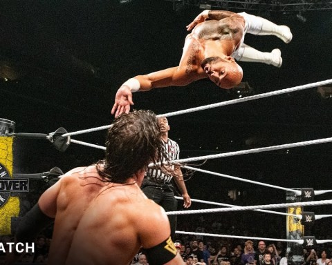 FULL MATCH: Ricochet vs. Adam Cole – NXT North American Title Match: NXT TakeOver: Brooklyn 4
