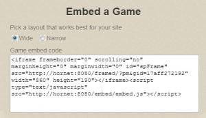embed box edit