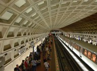 The now infamous Washington, D.C. metro