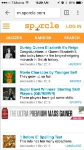 New Header on Mobile Web