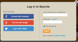 Log in With Username