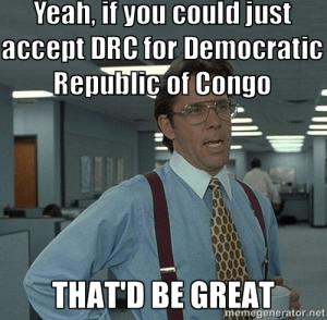 DRC meme