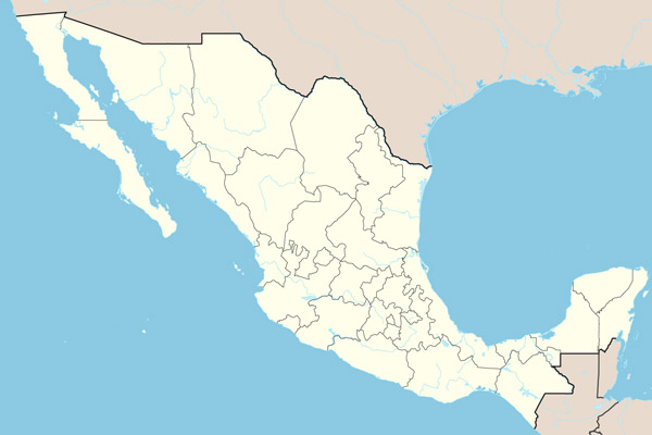 Mexico Border Geography Facts