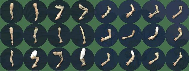 Spore limbs