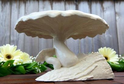 Mushroom Cake Stand