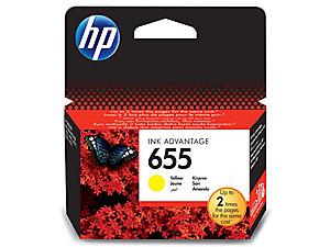 ink-jet pro HP DJ 3525 Advant. yellow,600 str.,origin.,No.655