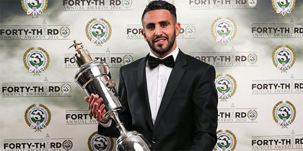 Riyad Mahrez yılın futbolcusu oldu