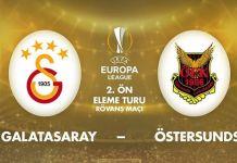 Galatasaray Östersunds ilk 11
