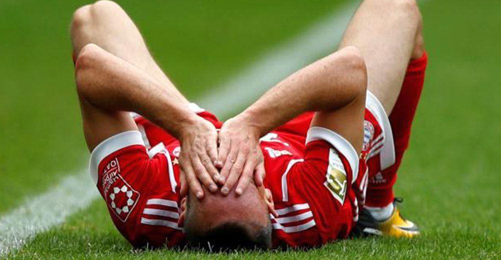 Franck Ribery sakatlandı