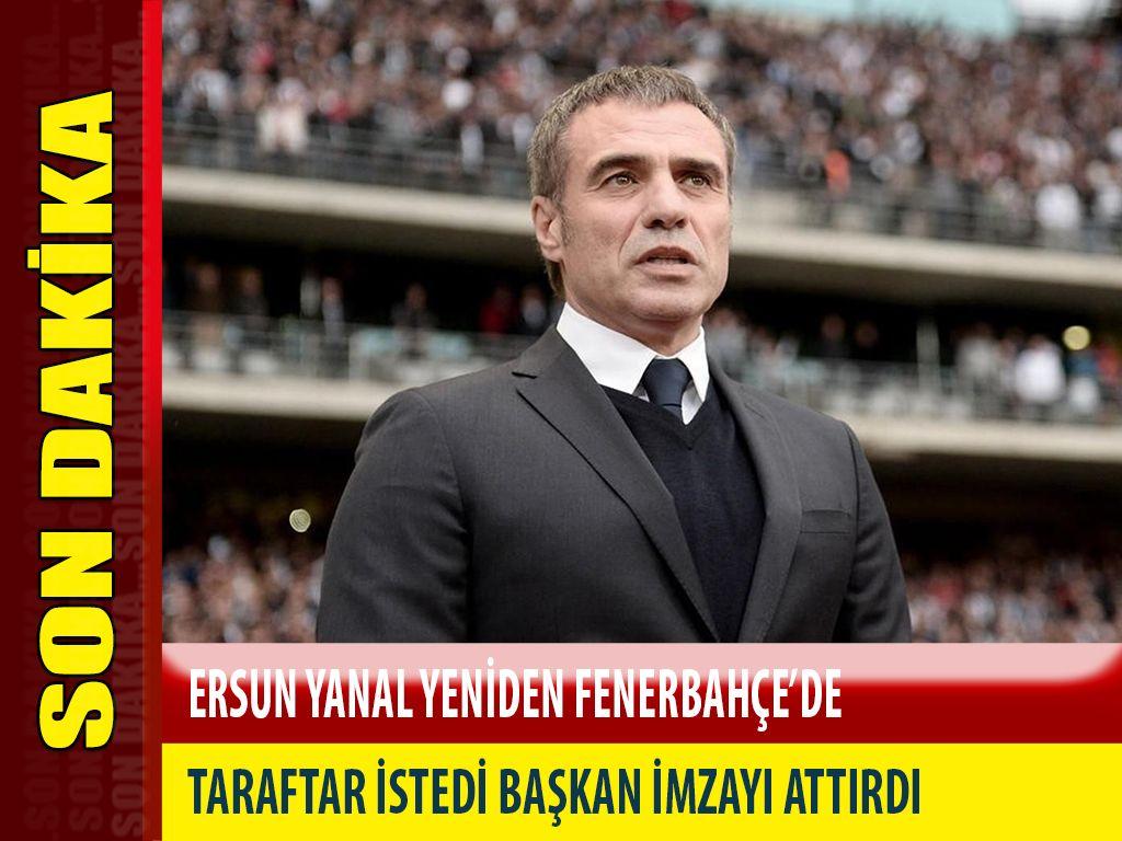 Ersun Yanal Fenerbahçe